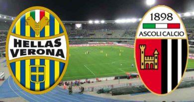 29ma giornata serie B 2018/19, Verona- Ascoli Live