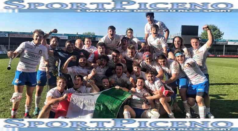 L'Italia batte il Galles 34-13, nell'ultima giornata del six nation festival U18