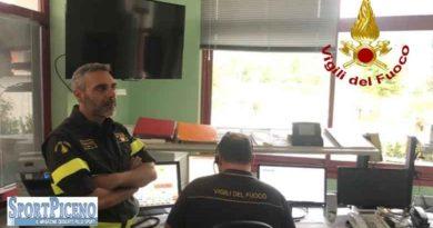 Luca Verna nuovo Comandante  dei Vigili del fuoco di Ascoli Piceno