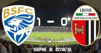 Serie B 2018/19 Brescia Ascoli 1-0: Ascoli addSerie B 2018/19 Brescia Ascoli 1-0: Ascoli addio play-off, Leoni in Aio play-off, Leoni in A