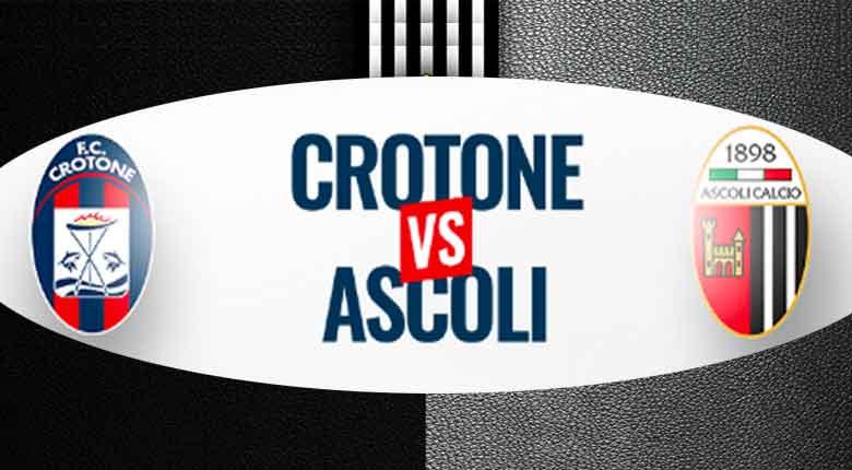 Serie B 38ma giornata Crotone-Ascoli calcio live score