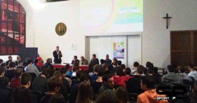 Inizia dall'Iti Montani il Campionato Italiano di Sitting Volley. Due giorni di sfide e oggi l'open day alla Palestra CONI