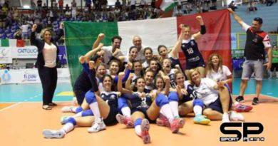 FSSI, La Nazionale Italiana di Pallavolo/F è Campione d'Europa. Battuta la Russia 3-0