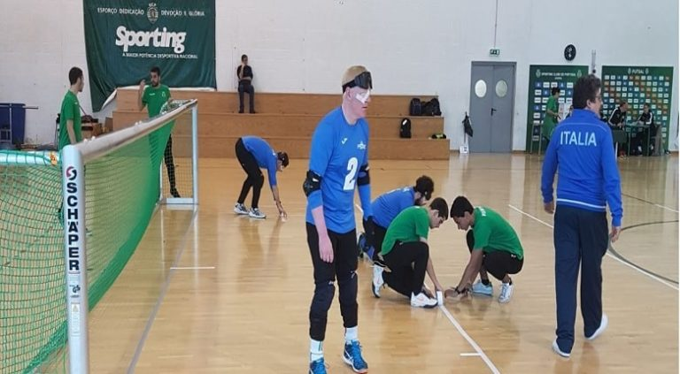 Torneo di Goalball in Polonia, l'Italia parte con il piede giusto