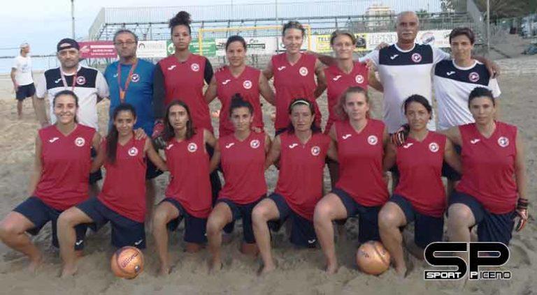 Happy Car Samb femminile esordio nel campionato di Beach Soccer