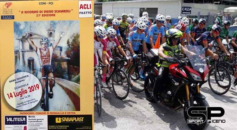 Edizione numero 27 in arrivo per il Memorial Diego Schiaroli juniores