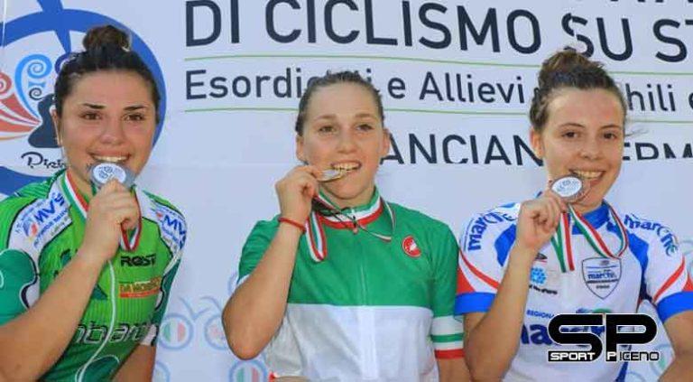 Podio tricolore per Eleonora Ciabocco a Chianciano Terme, in ottima evidenza Sara Albanesi ed Elisa Beciani