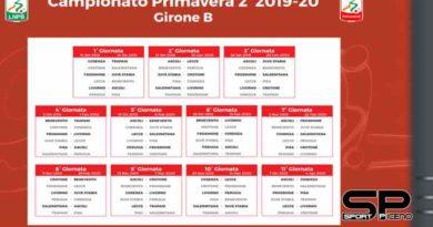 Calendario Primavera 2 girone B, L'Ascoli debutta sul campo del Livorno
