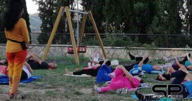 """Domenica primo settembre ultimo appuntamento """"Summer Yoga"""" ad Ascoli"""