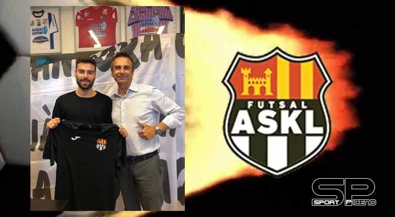 Futsal ASKL .Preso dall'Acqua e Sapone il laterale classe 98 Lorenzo Canale.