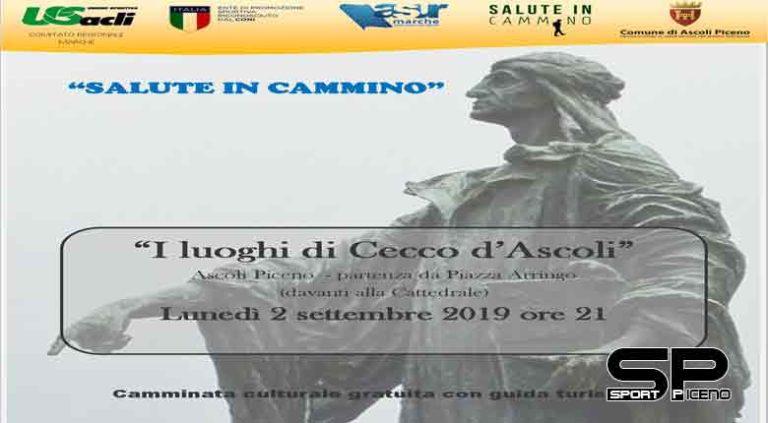 """""""I luoghi di Cecco d'Ascoli"""" – lunedì 2 settembre si parte alle 21 da Piazza Arringo"""