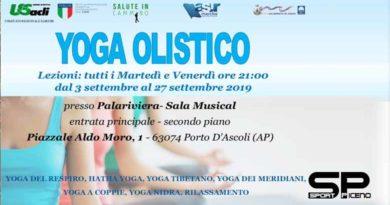 Settembre all'insegna dello yoga a San Benedetto del Tronto Dal 3 due lezioni settimanali gratuite