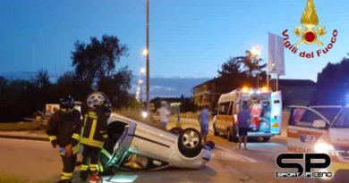 Vigili del fuoco – Jesi, incidente stradale