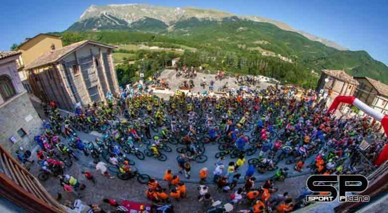 """Grande successo per la quarta edizione della """"Cicloturistica Montegallo- Montegallo bike tour"""""""