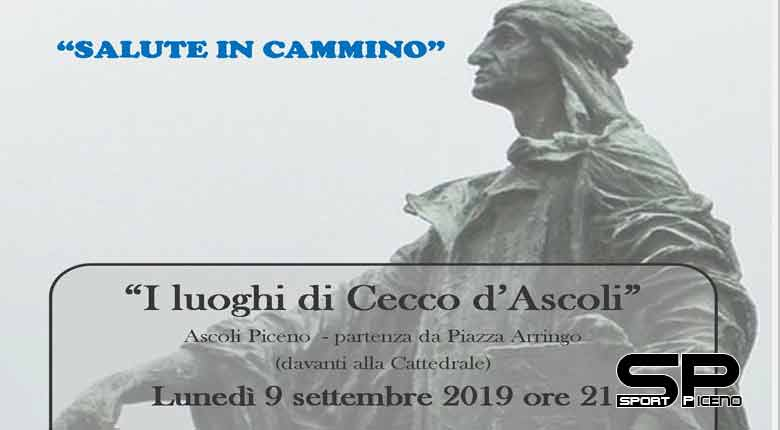 """""""I luoghi di Cecco d'Ascoli"""" – lunedì 9 settembre si parte alle 21 da Piazza Arringo"""
