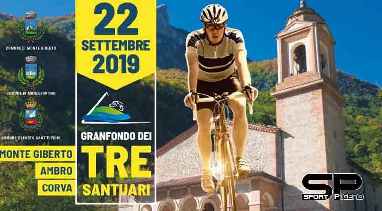 Ciclismo Amatoriale --- Granfondo dei Tre Santuari del Fermano: ecco la novità navetta tra partenza e arrivo!