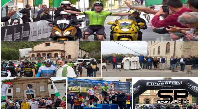 Festa delle due ruote e della spiritualità alla Granfondo dei Tre Santuari del Fermano