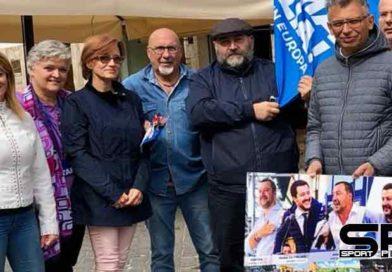 la Lega è scesa nelle Piazze,Comunicato stampa gazebata città di Ascoli Piceno