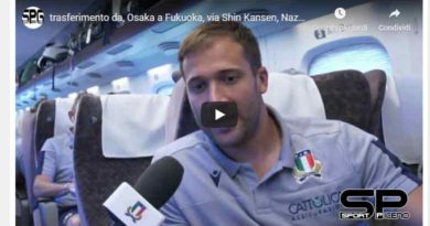 Intervista al centro della Nazionale Italiana Rugby Tommaso Benvenuti