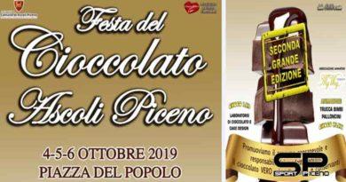 La kermesse della Festa del Cioccolato Artigianale è in arrivo ad Ascoli Piceno.