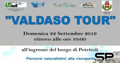 """La nona tappa di """"Valdaso Tour"""" a Petritoli il 22 settembre All'interno delle Giornate europee del patrimonio e della Settimana europea della mobilità"""