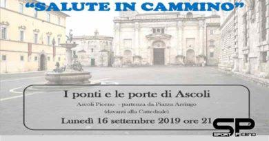 """Lunedi 16 settembre appuntamento con """"I ponti e le porte di Ascoli"""" In occasione della Settimana europea della mobilità sostenibile"""