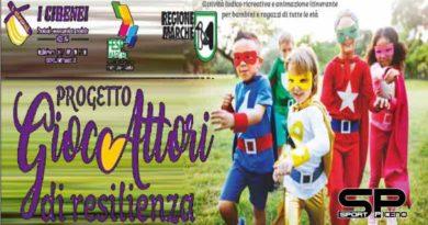 Maltignano, domani evento per bambini e ragazzi con i Gioc-Attori di Resilienza