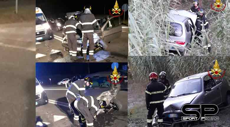 Ancona 27 settembre 2019, Nella giornata di ieri 26 settembre, i vigili del fuoco sono intervenuti in due distinti incidenti stradali.