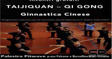 Dal 16 ottobre incontri gratuiti di taijiquan e qi gong a Pedaso