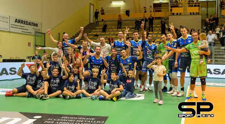 Videx, buona la prima!,   Esordio con vittoria per i ragazzi di coach Ortenzi.