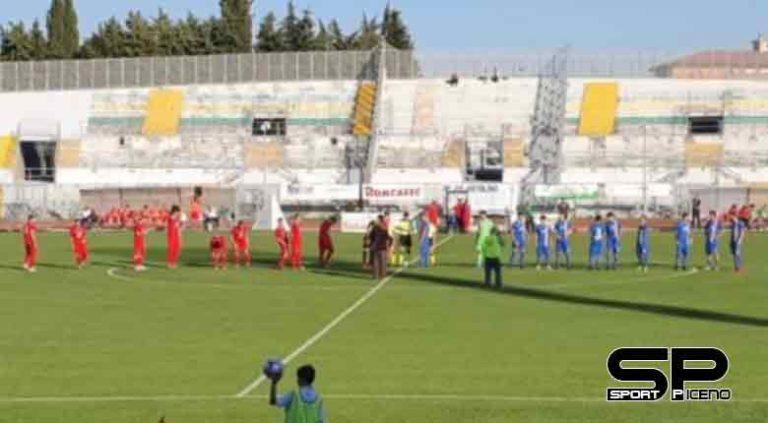 ASD Calcio Atletico Ascoli, Pareggio stretto nel big match di Macerata