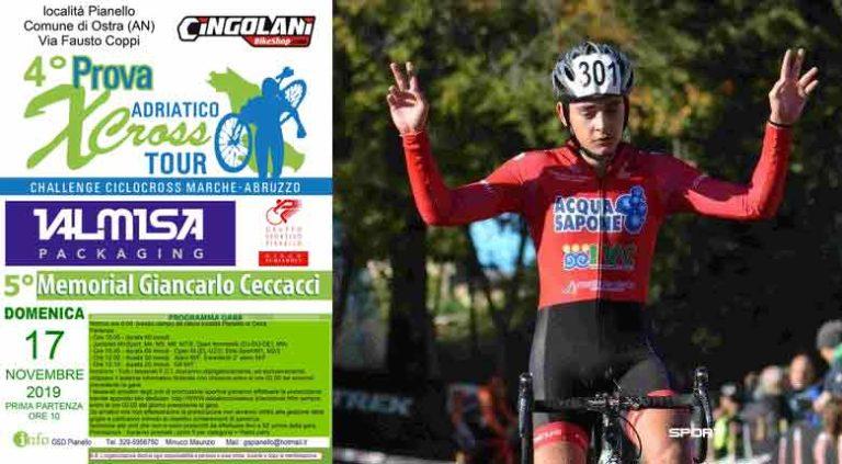 Pianello d'Ostra riabbraccia il ciclocross con il Memorial Giancarlo Ceccacci