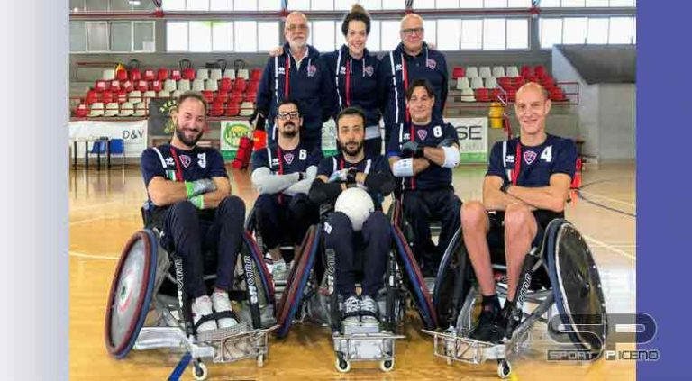 Rugby in carrozzina, Campionato: Padova Rugby vince lo scudetto per la terza volta