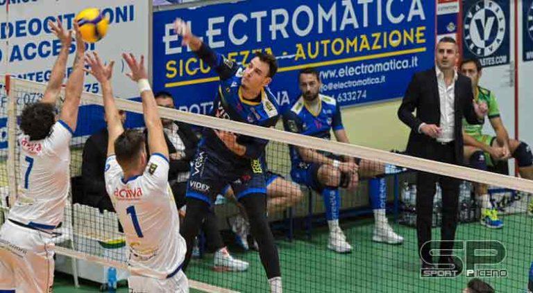 Videx, Mixed-zone con coach Ortenzi e Stefano Giannotti