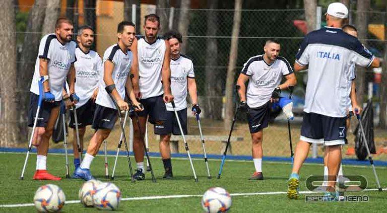 Calcio amputati: la Nazionale italiana al Festival SportivaMente di Sassuolo