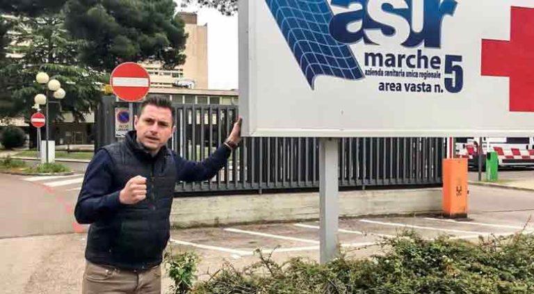 """Sindaco Ascoli Piceno """"Sanità del Pd regionale allo sbando, vogliamo un servizio forte e valido nel sud delle Marche"""""""