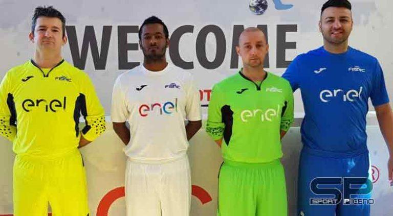 Enel e Nazionale di Calcio ipovedenti: presentate le nuove maglie degli azzurri