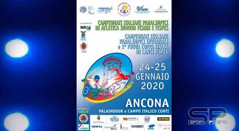 Atletica paralimpica: ad Ancona i Campionati Italiani Paralimpici Indoor ed Invernali Lanci