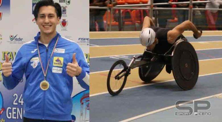 Atletica paralimpica indoor e lanci, Ossola e Gastaldi da record ad Ancona