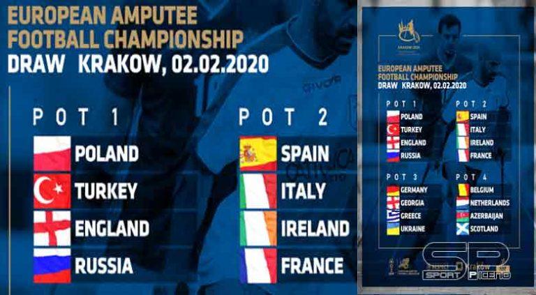 Calcio amputati, al Congresso EAFF di Cracovia il sorteggio degli Europei