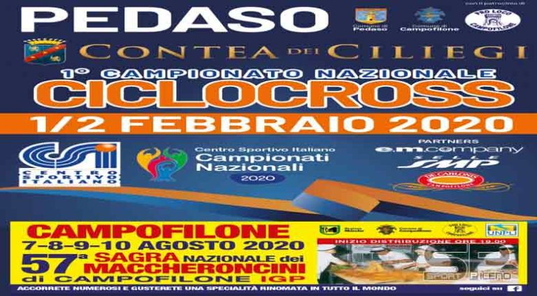 Campionato Nazionale Ciclocross CSI, appuntamento tricolore il 2 febbraio a Pedaso