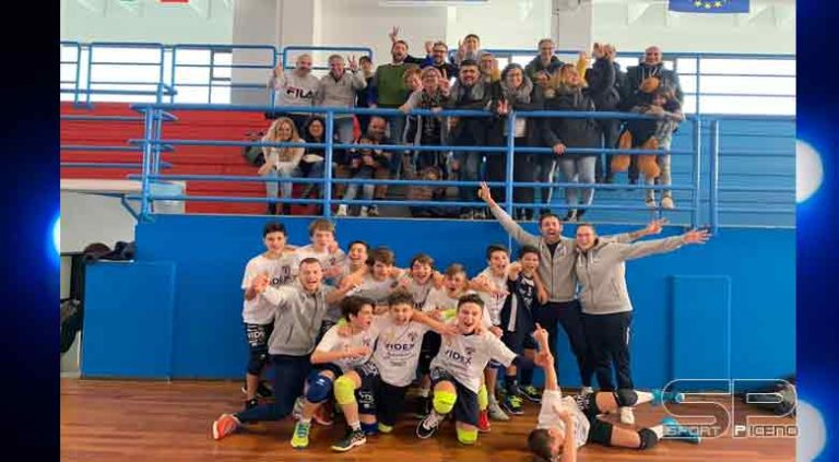 Pallavolo Boy League, la Videx vola in finale!