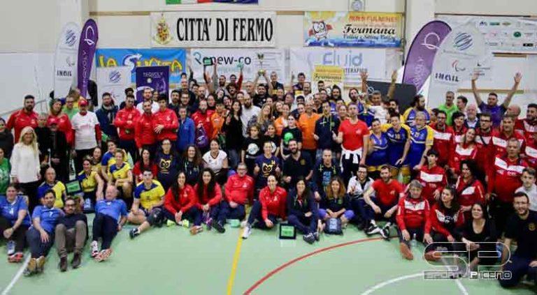 SITTING VOLLEY: LA BEFANA INCORONA CESENA Successo a Fermo per il torneo internazionale organizzato dalla Scuola di Pallavolo Fermana