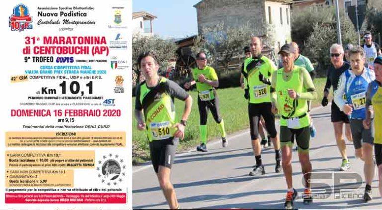 Maratonina di Centobuchi, cresce l'attesa per la 31°edizione