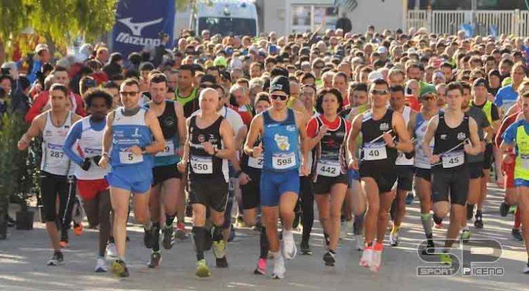Maratonina di Centobuchi, pienone di partecipanti per la 31°edizione