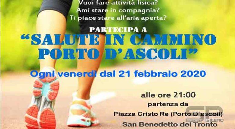 """Venerdì 28 febbraio, alle 21, con partenza da Piazza Cristo Re, nuovo appuntamento con l'iniziativa gratuita """"Salute in cammino"""""""