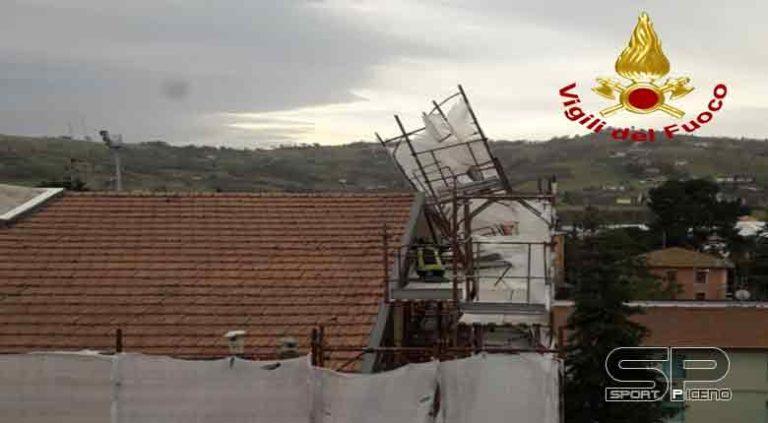 Vigili del fuoco – Interventi per vento forte