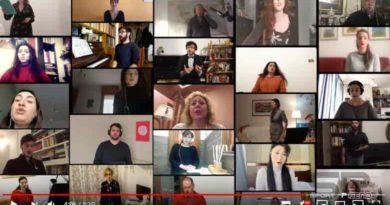 "FISPIC, L'International Opera Choir esecuzione del ""Va' pensiero"""