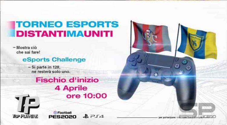 Diventa il player dei team eSports della Cremonese e del ChievoVerona