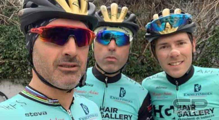 HG Cycling Team: Luca Curti vincente allo sprint al Trofeo Abruzzo Bike